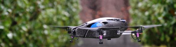 AR.Drone Parrot, le gadget geek ultime ?
