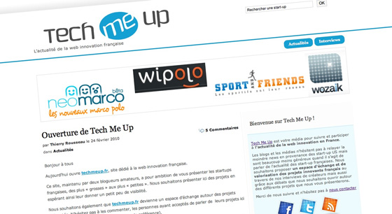 Tech Me Up, LE média de la web innovation en France