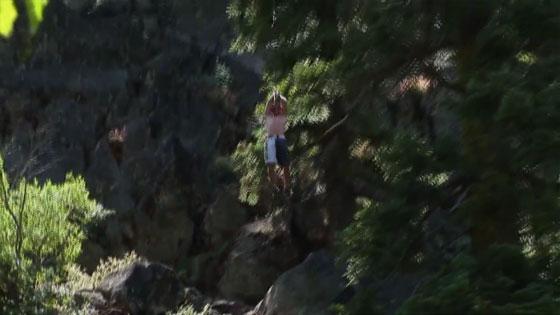 Du Rope Swing à 18 mètres de hauteur