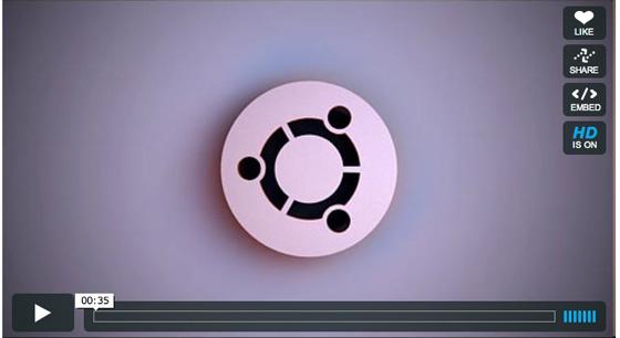 La 1ère publicité pour Ubuntu ?