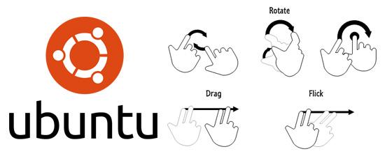 Ubuntu devient tactile avec uTouch