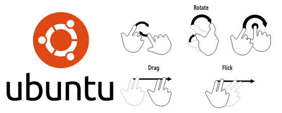 Ubuntu intégrera uTouch dans la version 10.10