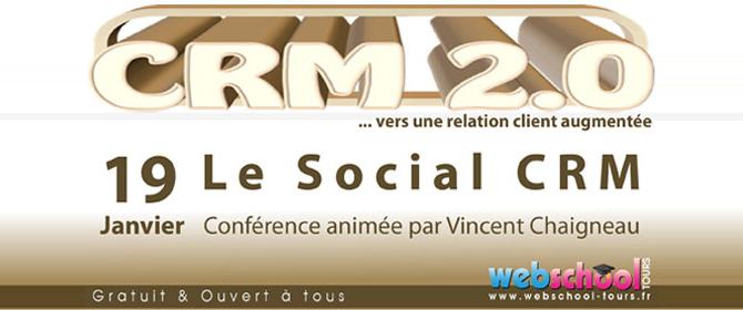 Conférence: Le social CRM, vers une relation client augmentée