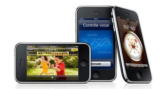 Désimlocker un iphone, un iphone 3G ou un iphone 3Gs