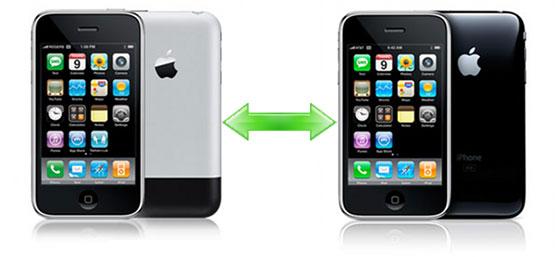Changer d'iphone et conserver ses données simplement