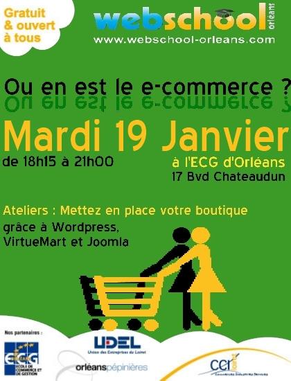 Webschool Orléans: Ou en est le E-Commerce ?