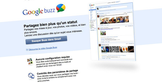 Google Buzz en Touraine