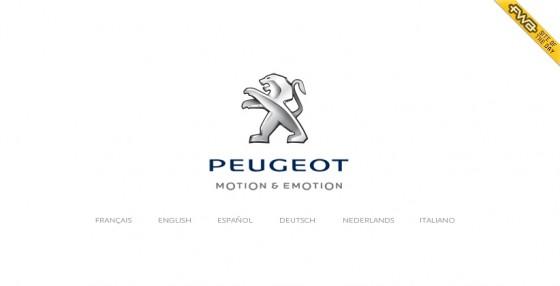 Fin de la campagne pour le site new-peugeot.com